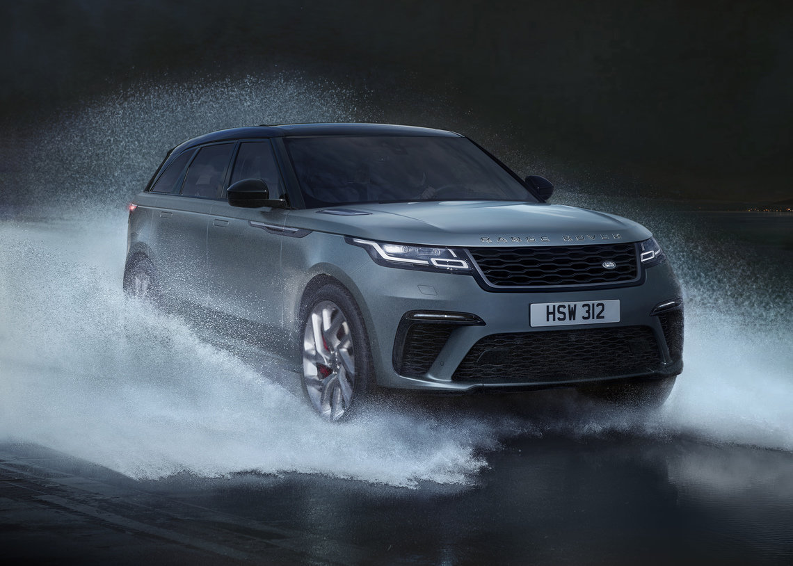British automaker, Jaguar Land Rover redesigns Range Rover Velar with all-terrain capability