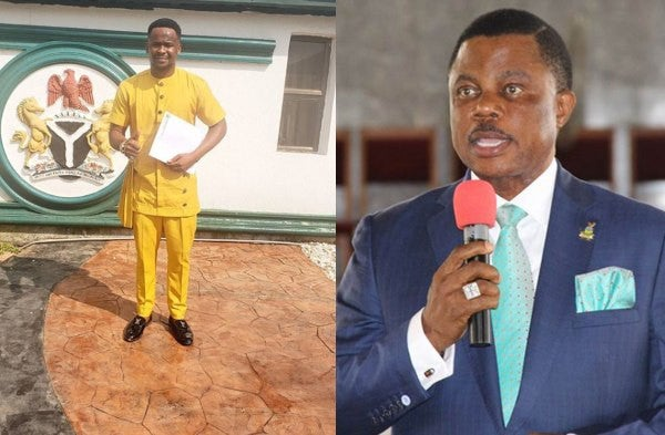 Zubby Michael and Governor Willie Obiano