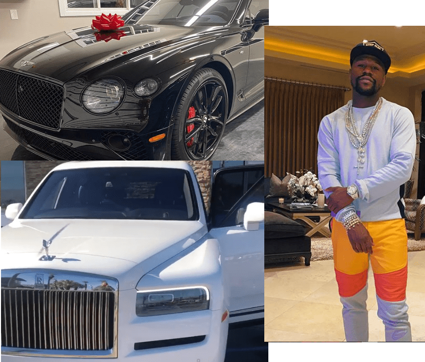 Floyd Mayweather buys 2020 Rolls Royce Cullinan Truck and 2020 Bentley Continental GT Mulliner to celebrate Christmas