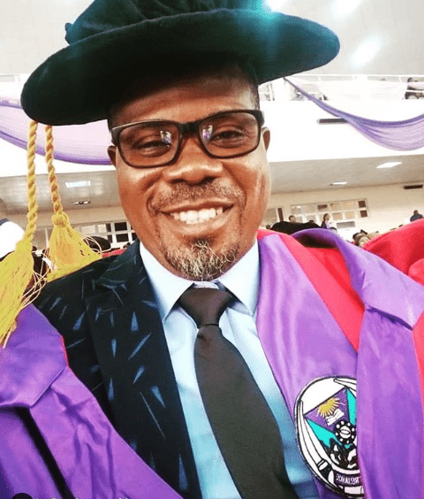 Actor Eniola Olaniyan bags PhD in Meteorology and Climate Science from FUTA