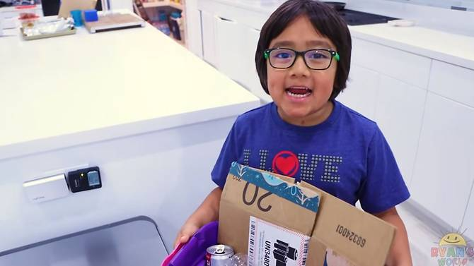 YouTuber of 2019 top earners: 8-year-old Ryan Kaji tops list with $26m