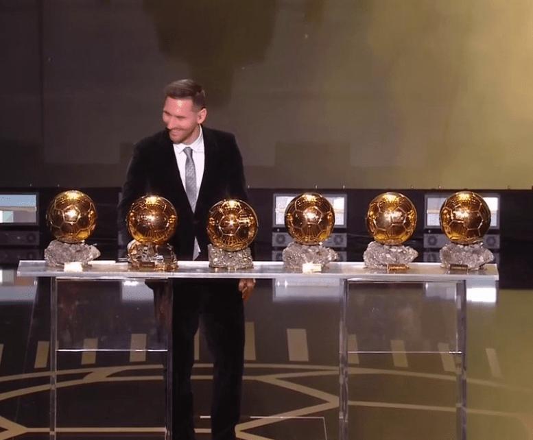 Ballon d'Or messi