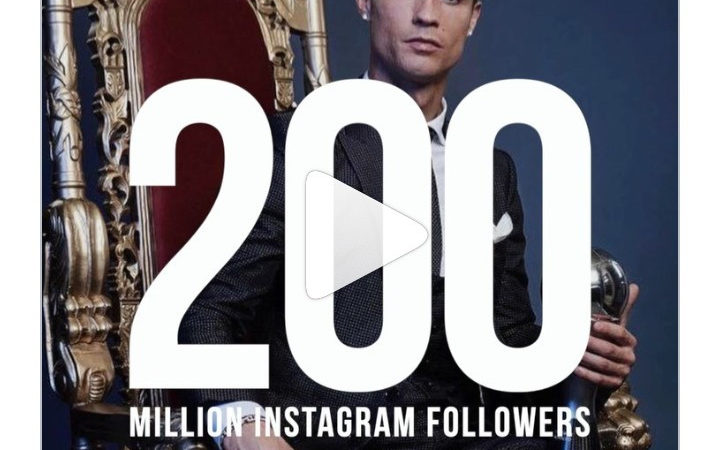 10 most followed people on Instagram as Cristiano Ronaldo becomes the first person to reach 200 million