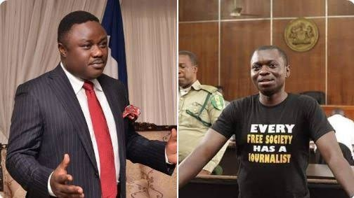 Governor Ben Ayade denies ordering Agba Jalingo arrest says his arrest and trial is connected to Omoyele Sowore's #RevolutionNow protest