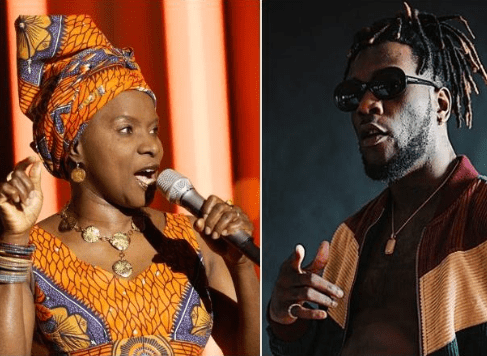 Beninese singer,Angelique Kidjo beats Burna Boy to win 'Best World Music Album' at the 2020 Grammys