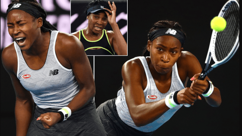Coco Gauff defied her age again, repeats another victory against Venus Williams at Australian Open