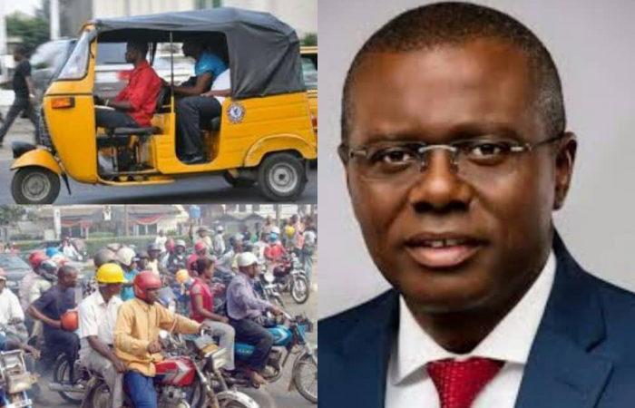 Lagos state Govt bans Okadas, tricyles, including Opay, Gokada