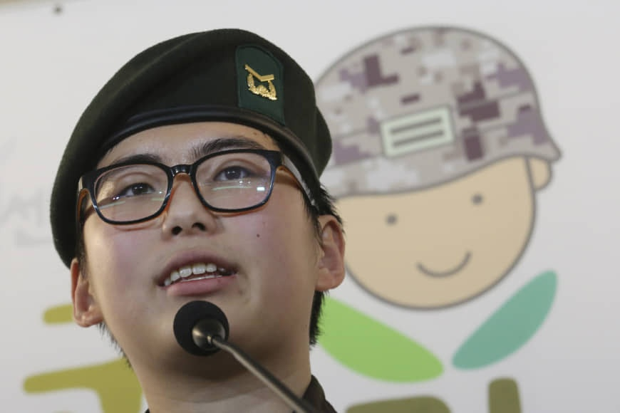 South Korea's first transgender soldier Sgt. Byun Hui-su thrown out of the army