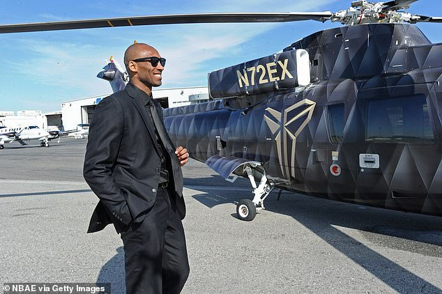 Kobe Bryant helicopter didn't have black box