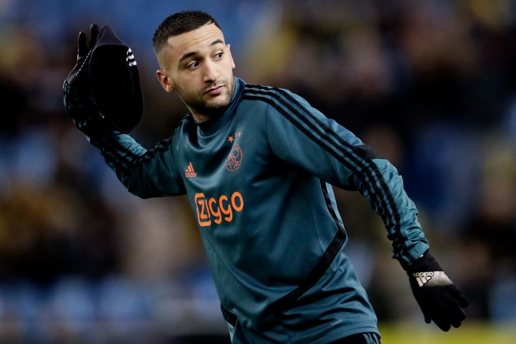 Chelsea confirm Hakim Ziyech transfer from Ajax in £33.3m deal