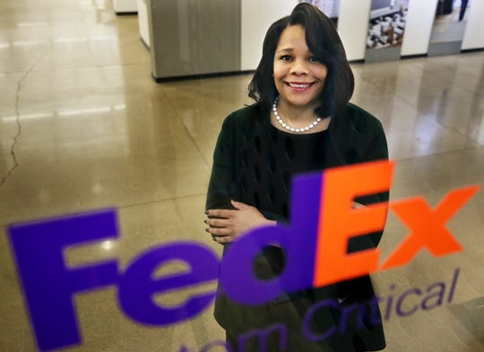 FEDEX appoints its former receptionist Ramona Hood as company's first black female CEO