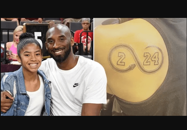 Kobe Bryant's sister Sharia Washington honors him and his daughter Gianna in a new tribute tattoo
