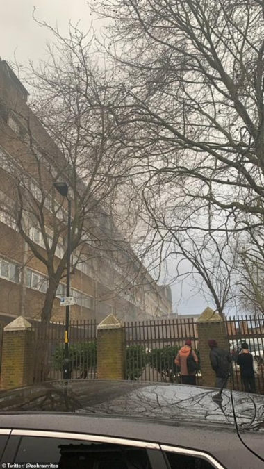 Explosion reported  hit busy market in south east London