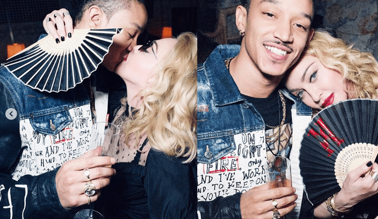 Madonna, 61, kisses her toyboy Ahlamalik Williams, 25 after UK Madame X tour