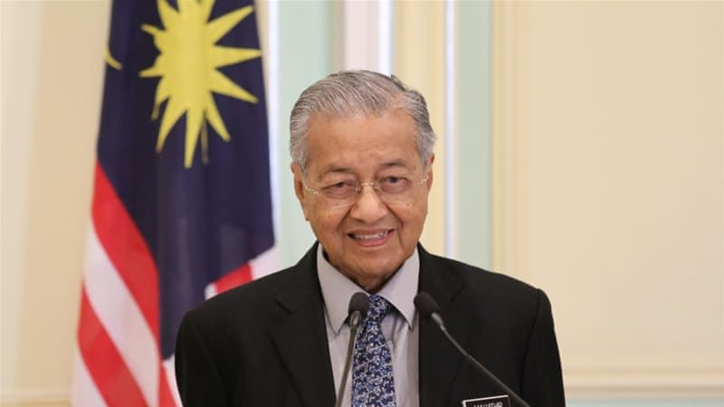 Malaysia's Prime Minister Mahathir Mohamad resigns'quits' his party