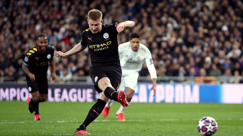 Champions League:Real Madrid 1-2 Man. City- Raheem Sterling,Kevin De Bruyne and Gabriel Jesus seals it for Guardiola