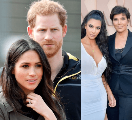 Meghan Markle and Prince Harry snub Kris Jenner from their celebrity A-list squad as they pick their friends