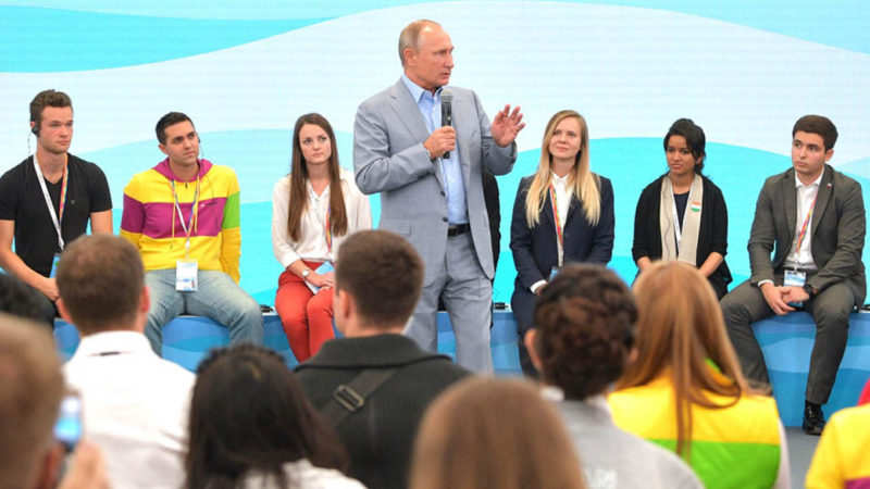 President Putin says gay marriage is illegal 'There Will Be Dad and Mum
