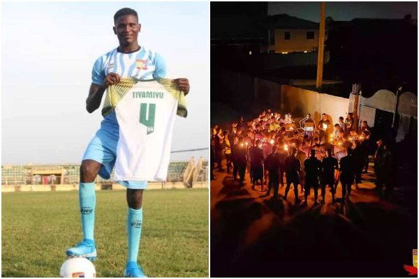 Remo stars player, Kazeem Tiamiyu killed by SARS buried in Shagamu
