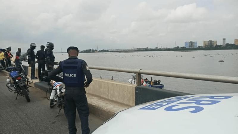 LASEMA Releases details Of Man Who Jumped Into Third Mainland Bridge, Lagos Lagoon