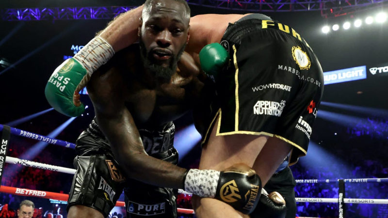 Deontay Wilder handed 6-week suspension after Tyson Fury defeat