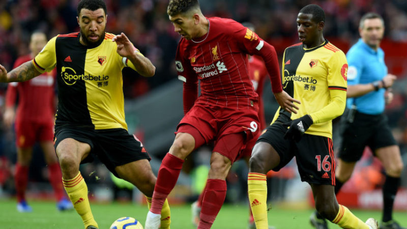 Watford 3-0 end Liverpool's 44-game unbeaten record