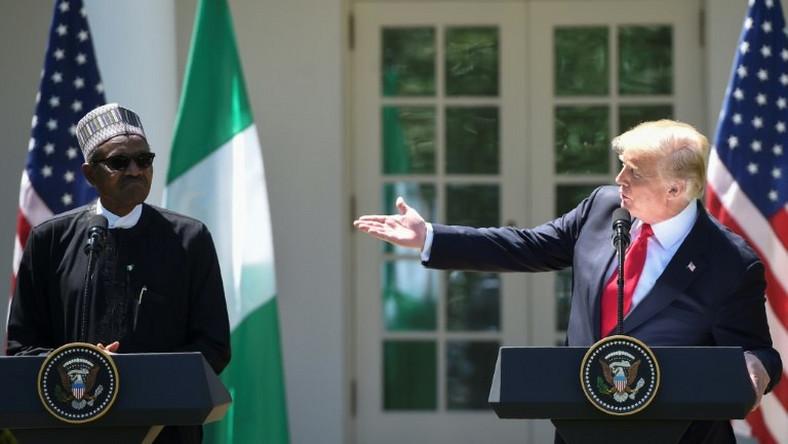 buhari and trump