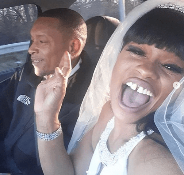 Blac Chyna Watches Her Mother Tokyo Toni Remarry Ex-Husband Marcellus Hunter