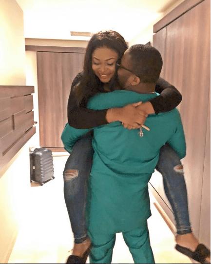 Actress Ruth Kadiri-Ezerika celebrates Valentine's Day with her husband