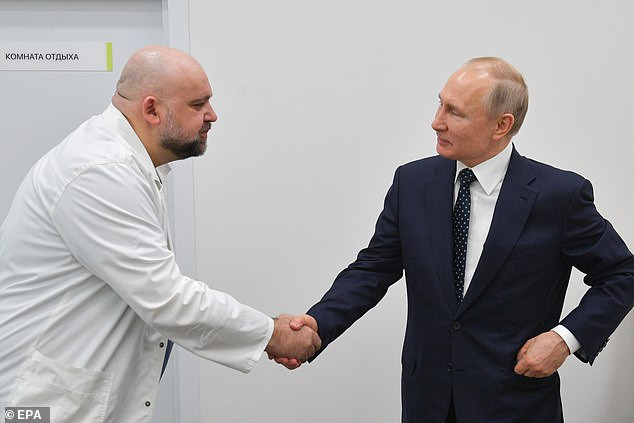 Russia's Doctor Who shook hands with Vladimir Putin a week ago tests positive for coronavirus infection