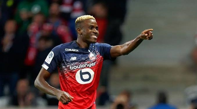 Lille FC of France place €100m price tag on Victor Osimhen