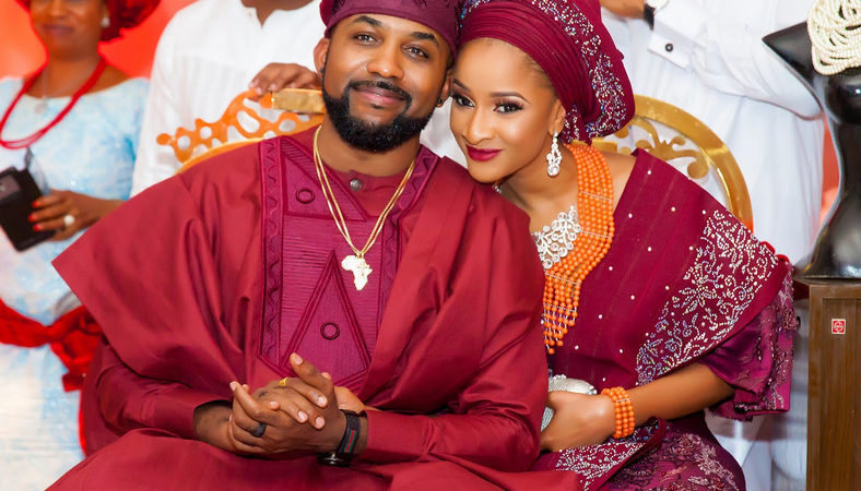 Adesua Etomi celebrates husband, Banky W on his birthday