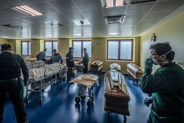Italy surpasses China in number coronavirus deaths