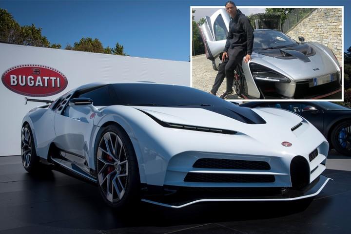 Cristiano Ronaldo Bought Bugatti Centodieci