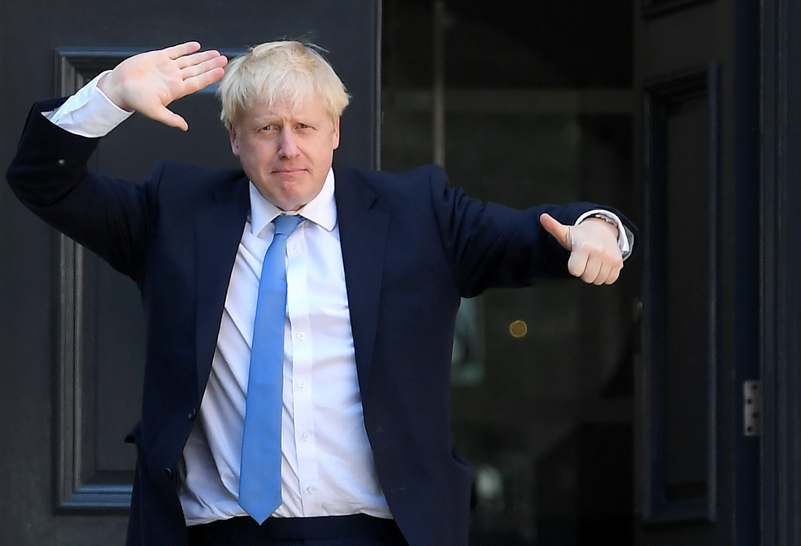 British Prime Minister Boris Johnson discharged from hospital