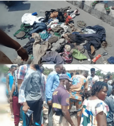 Kidnappers den discovered in Oshodi Lagos, 6 suspects arrested