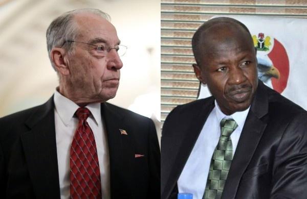 US Senator,Charles Grassley allegation against Ibrahim Magu is baseless-EFCC reacts