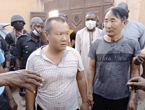 Two Chinese nationals arrested