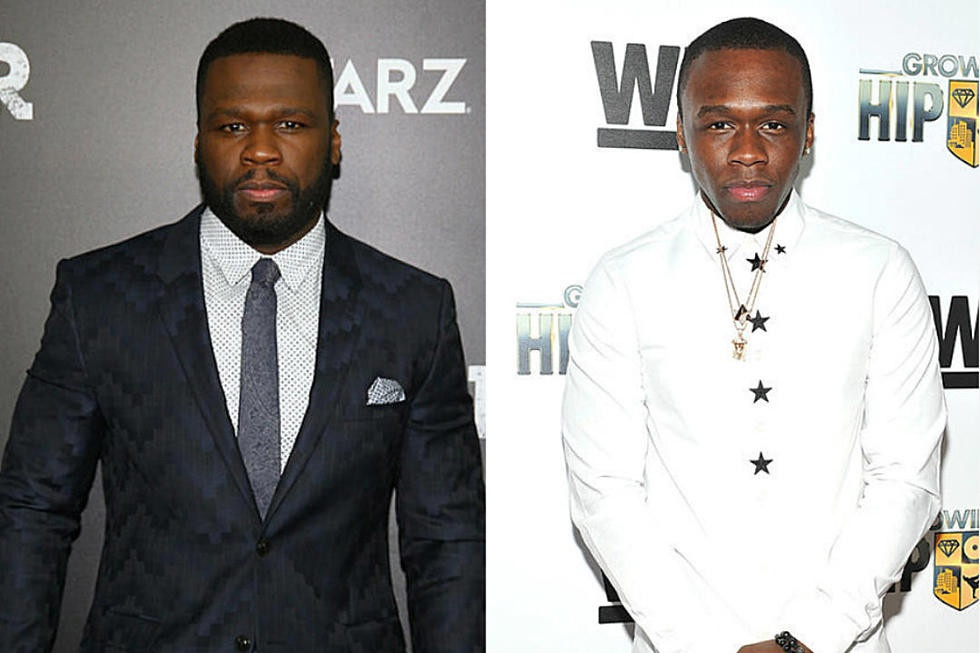 50 Cent and his son Marquise Jackson