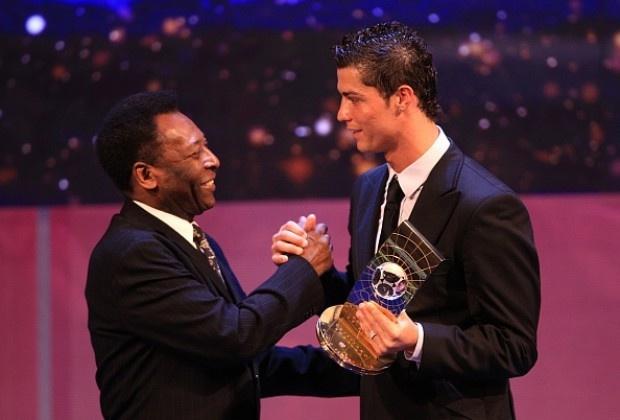 Ronaldo and pele