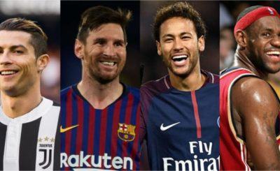 Cristiano Ronaldo Beats Messi, Neymar to emerges highest-paid footballer 2020