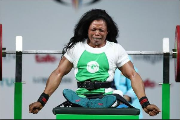 Nigerian Paralympic Champion, Esther Oyema