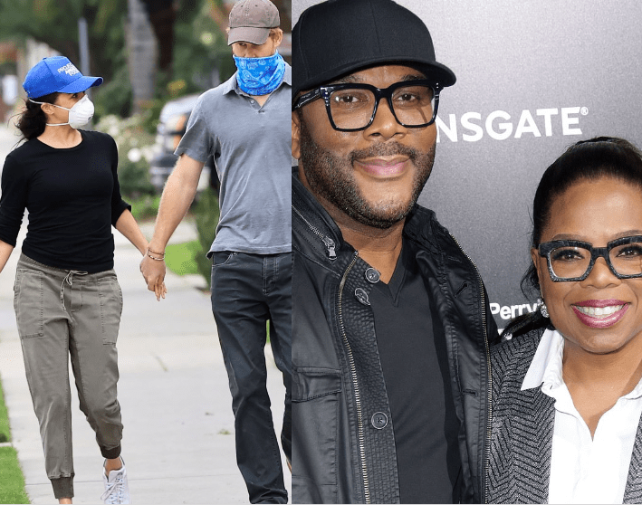 Prince Harry,Meghan Markle are living in Tyler Perry's £15million Beverly Hills mansion