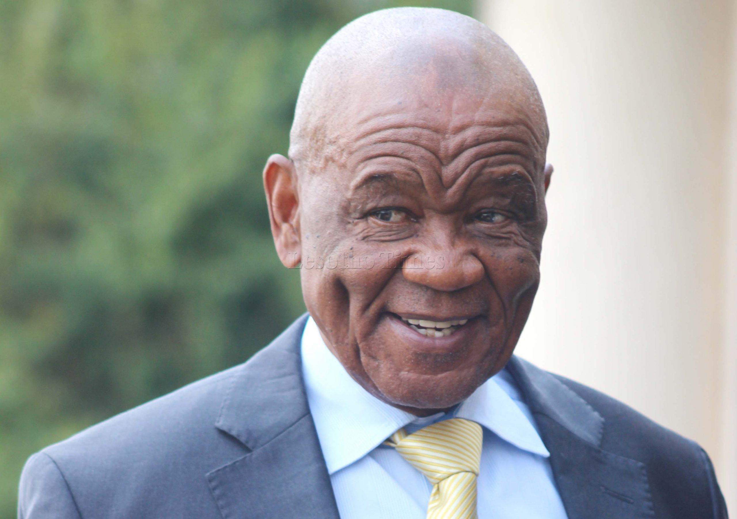 prime minister of Lesotho, Thomas Thabane
