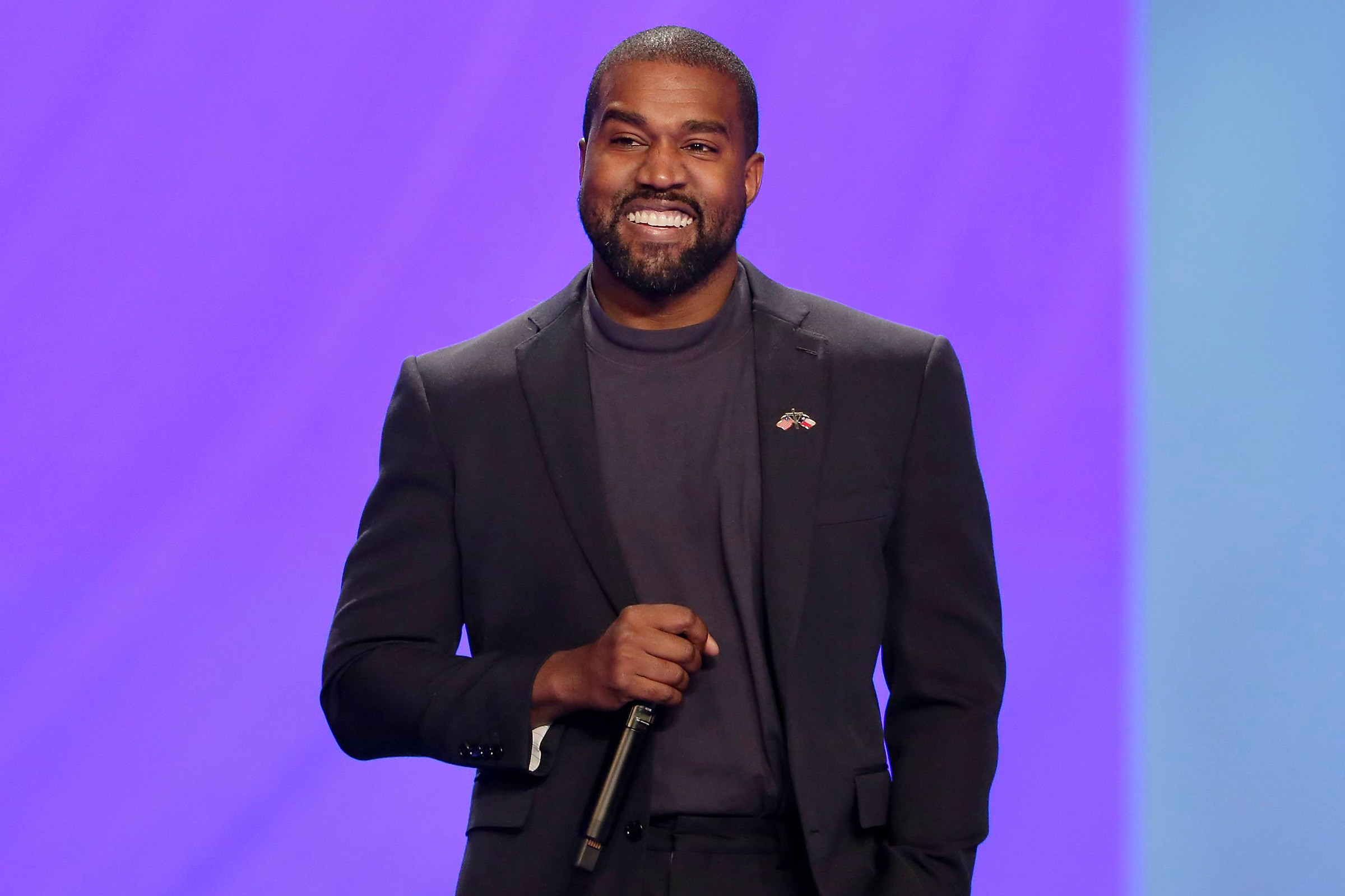 Kanye West tops the list