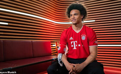 Bayern Munich confirm £55million signing of Leroy Sane from Manchester City on a five-year deal