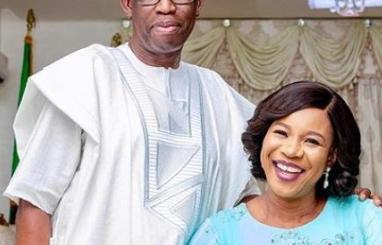 okowa and wife edith