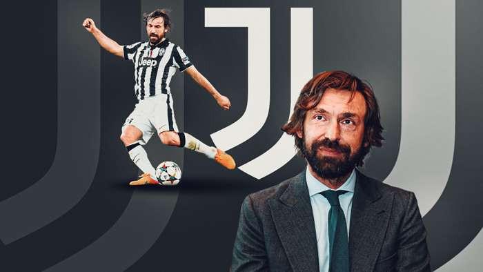 Juventus head coach Andrea Pirlo