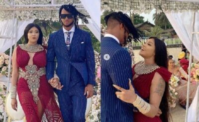 angela okorie and mysterious man