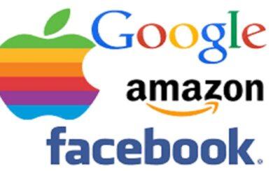 amazon,facebook,google